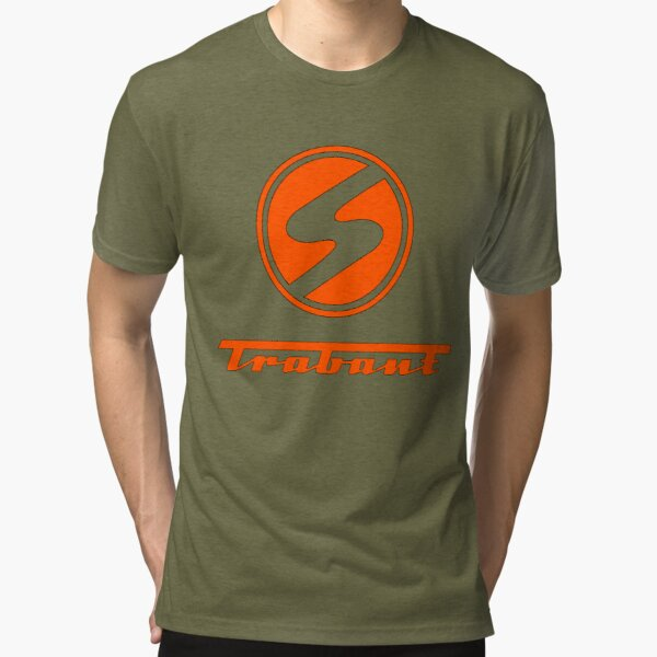Trabant t shirt - the DDR East German Automotive Marvel - Trabby  Tri-blend T-Shirt