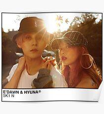 Póster E'Dawn x HyunA