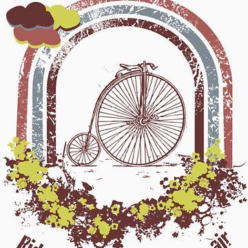 ride on my bike by fepa