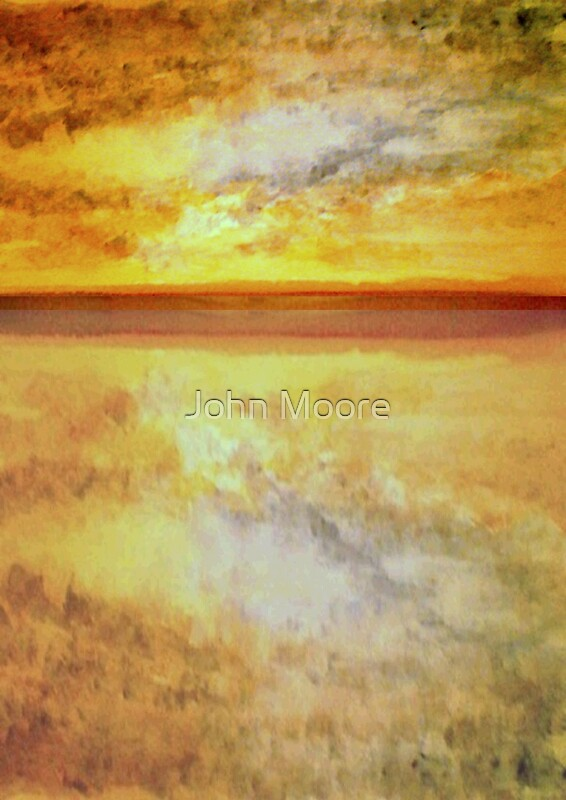 sun and water by John Moore