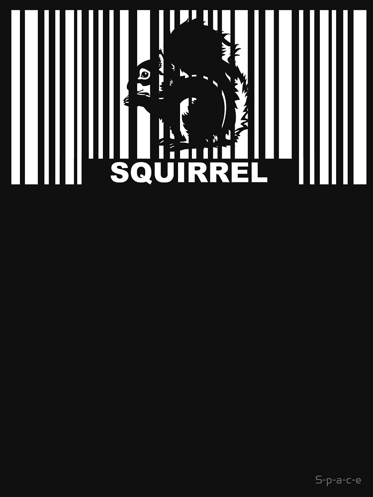 Squirrel Barcode by S-p-a-c-e