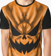 Spooky Faces - Jackolantern Graphic T-Shirt