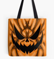 Spooky Faces - Jackolantern Tote Bag