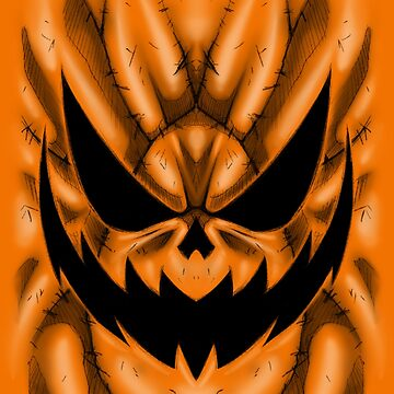 Spooky Faces - Jackolantern by Poofette