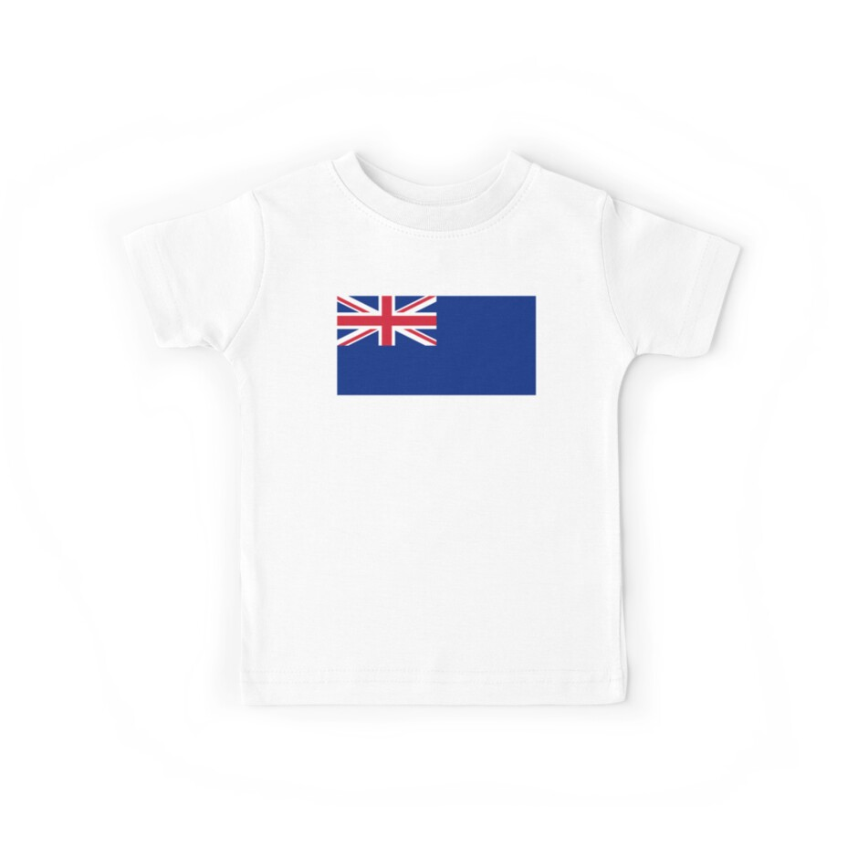'Blue Ensign, used under Admiralty warrant by certain officers and clubs '  Kids Clothes by TOM HILL - Designer