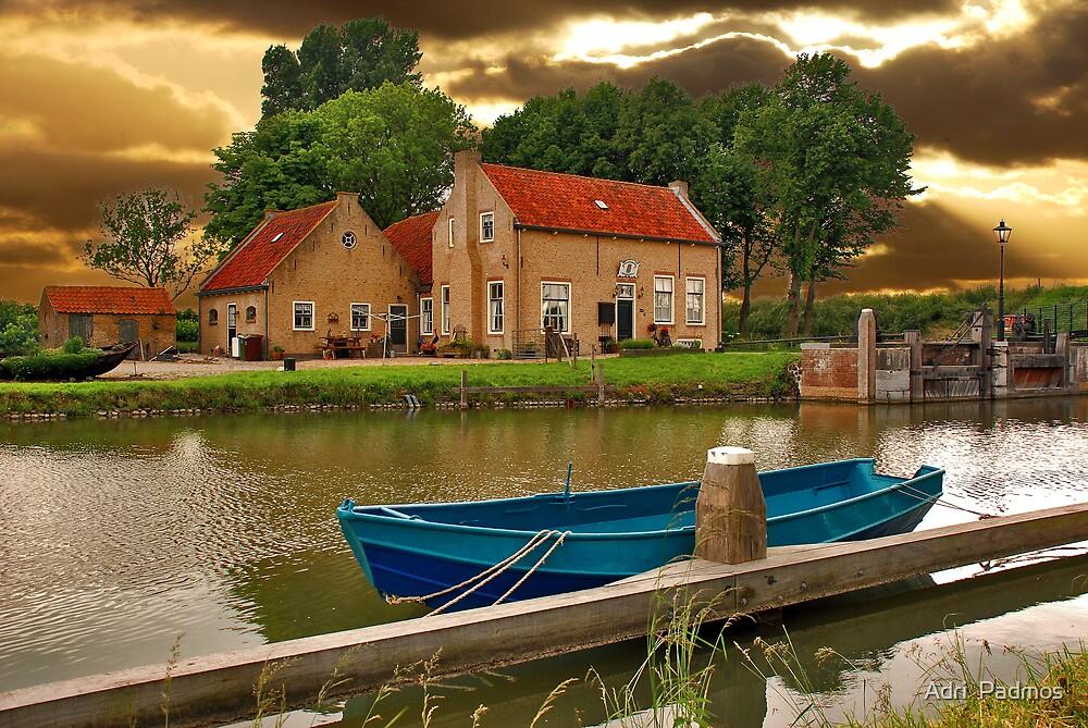 Lock Dirksland by Adri  Padmos