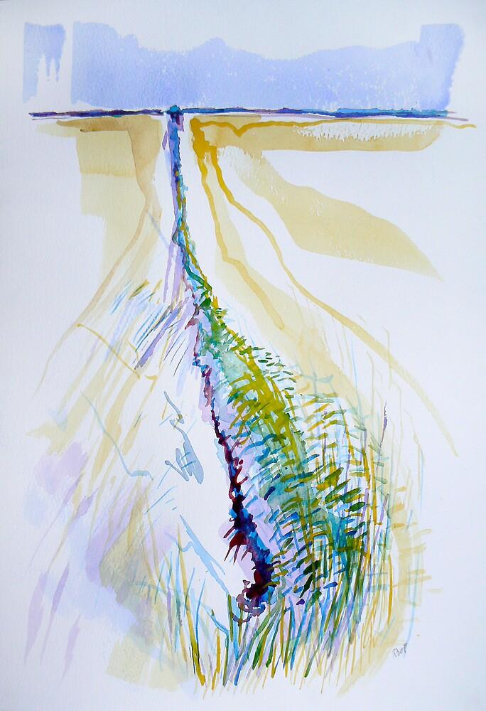 Man-made Lines1 by Richard Sunderland