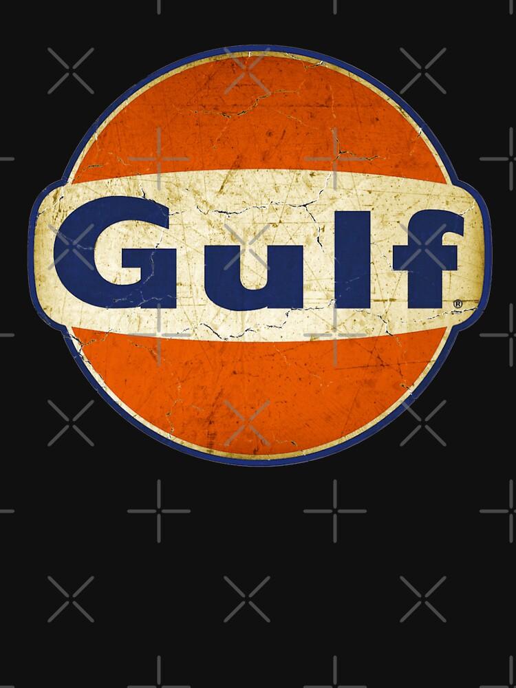 Signo de aceite Vintage Golfo de Retinaclimax