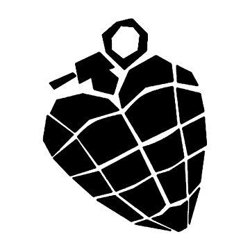 Grenade Heart by JeferCelmer
