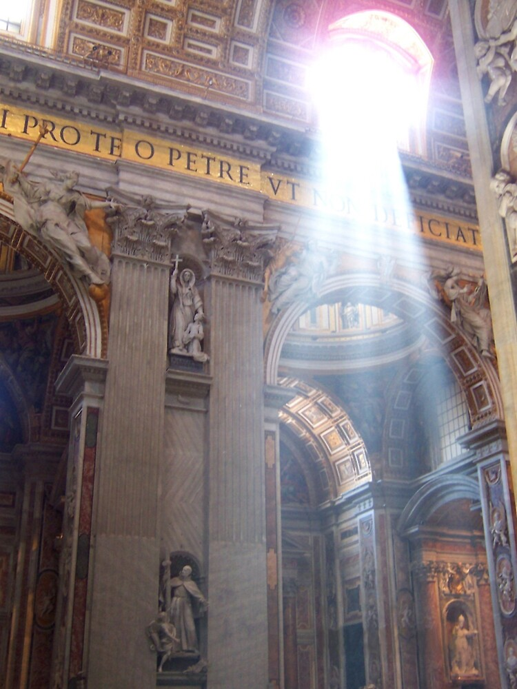The Angel In Saint Peter's Basilica by AngryGoldfish