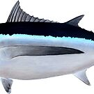 Albacore Tuna by StickFigureFish