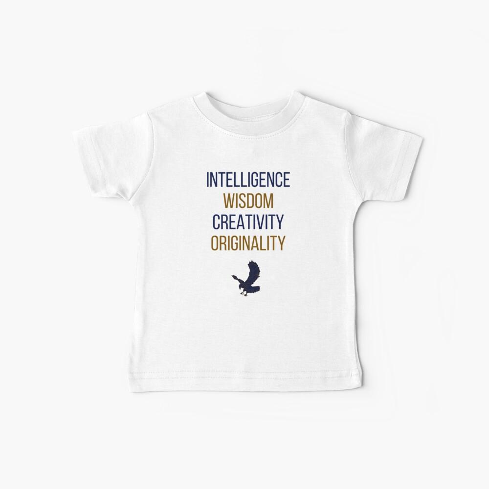 Palabras azules Camiseta para bebés