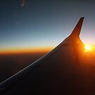 """""""Sunset at 37,000 Feet"""" by Alton Coleman"""