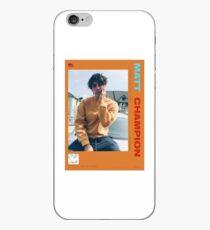 Matt Champion official artist card Brockhampton iPhone Case