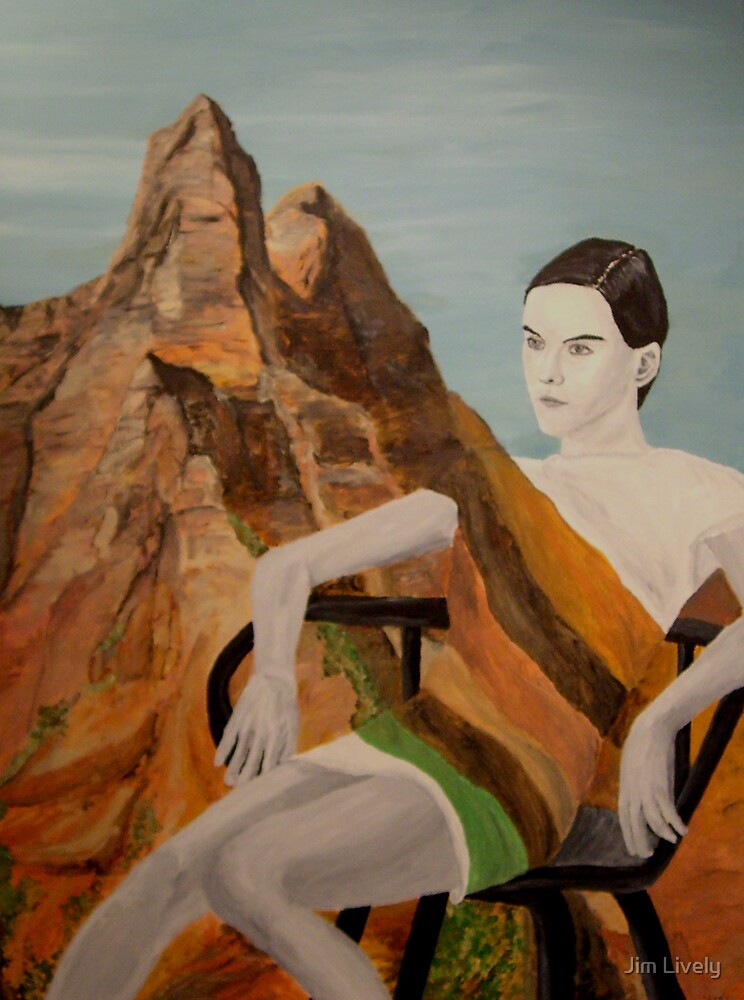 Models of Zion, Mila by Jim Lively