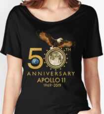 50th Anniversary Apollo 11 moon landing 1969-2019 Women's Relaxed Fit T-Shirt
