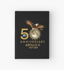 50th Anniversary Apollo 11 moon landing 1969-2019 Hardcover Journal