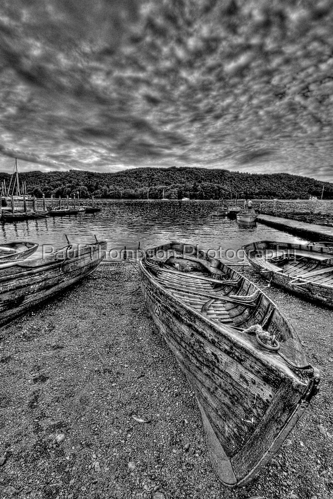 Windermere Boat by Paul Thompson Photography