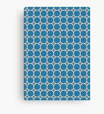 ponovan (blue) Canvas Print