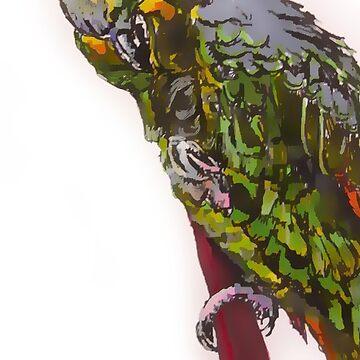 Pretty Bird by JacquesArt