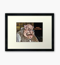 The Troll Framed Print