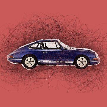 Porsche by Rembrandt1881