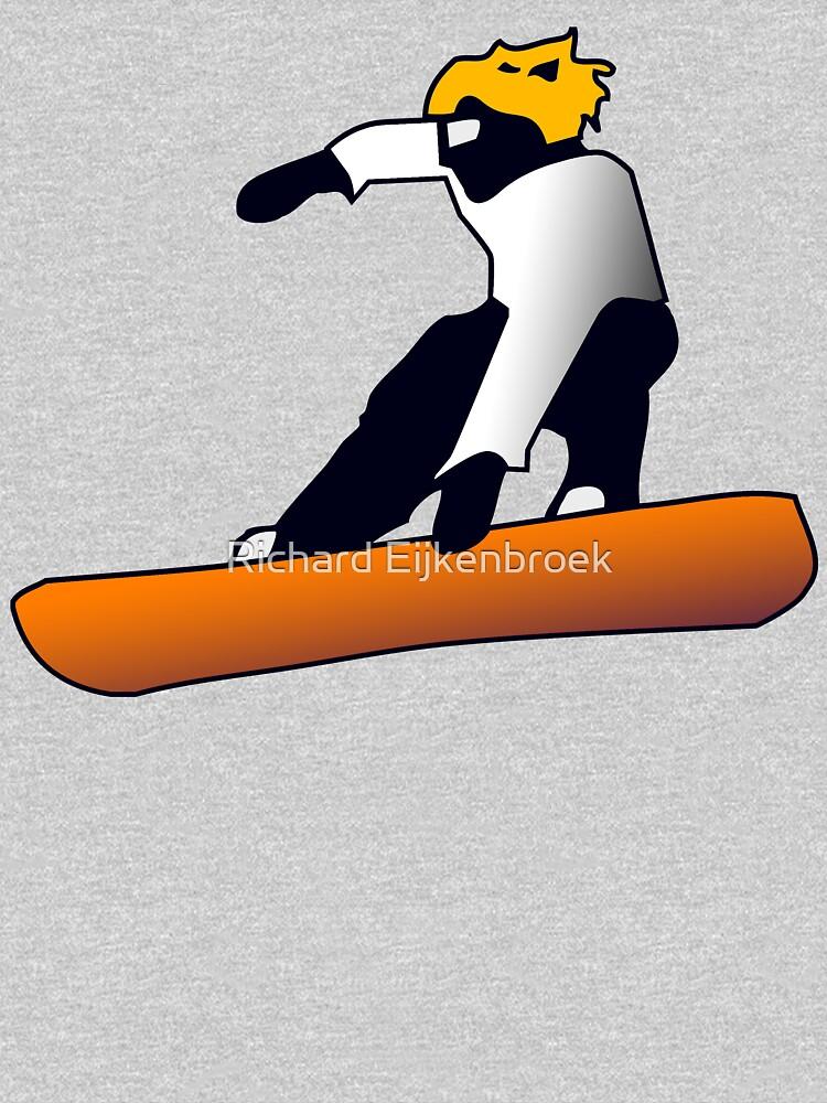 Snowboard - Snowboard jump by Nowhereman78