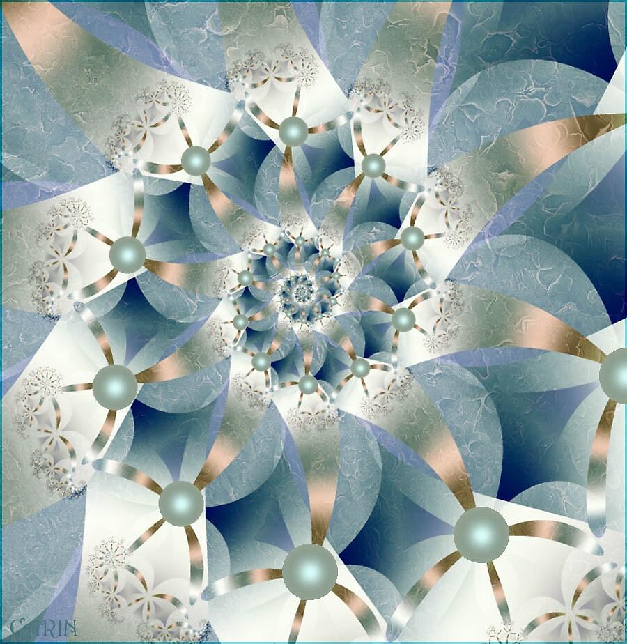 Oldfashion flowerspiral by FractaliaNo1