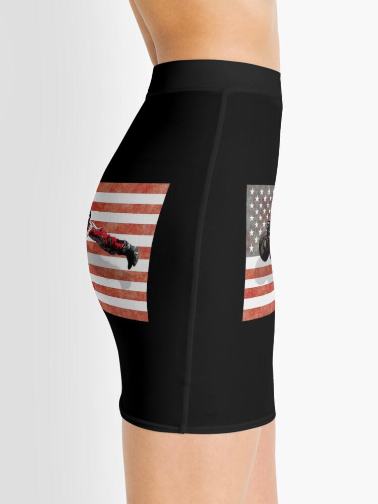 American Flag Four Wheeler Quad Bike Trick Gift Hoodie