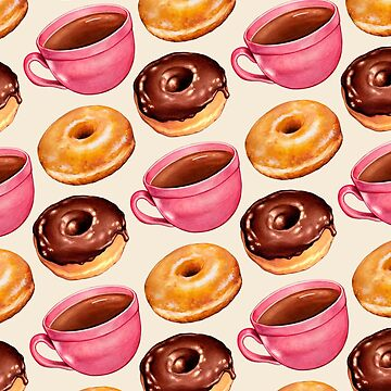 Coffee & Donuts Pattern by KellyGilleran