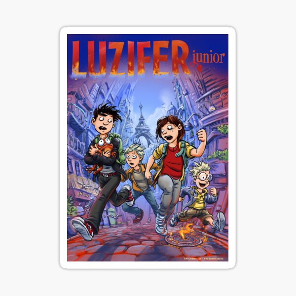 COVER 4 Sticker