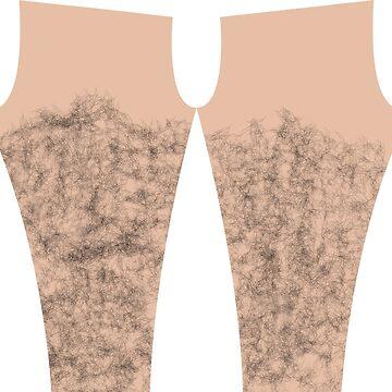 Hairy legs. by ImHigh