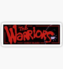 The Warriors Traditional Team Slap Sticker 216mm Sticker