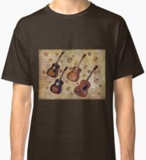 Guitar Love Tee Classic T-Shirt