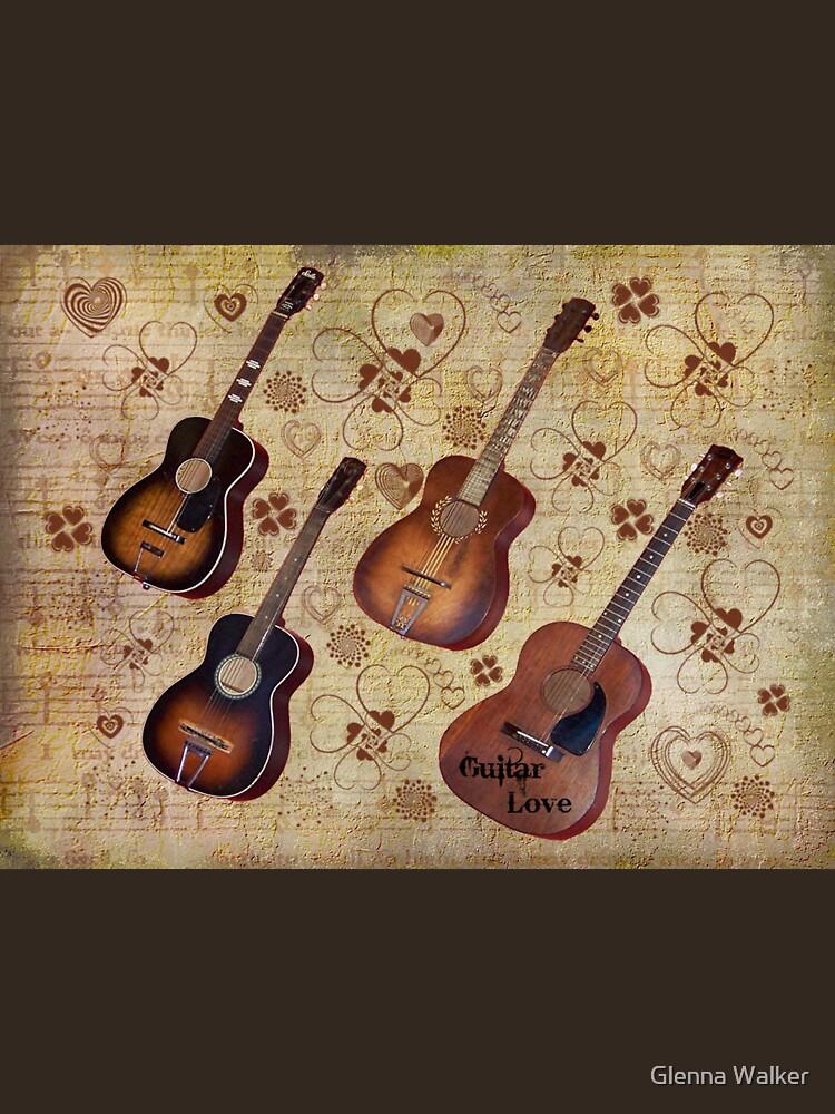Guitar Love Tee by iluvmyragdolls
