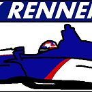 Max Renner 2018 Brickel's IndyCar Sticker by TheJoeDonohue