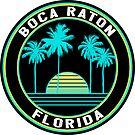 Boca Raton Florida Surfing Beach Ocean Travel Vacation by MyHandmadeSigns