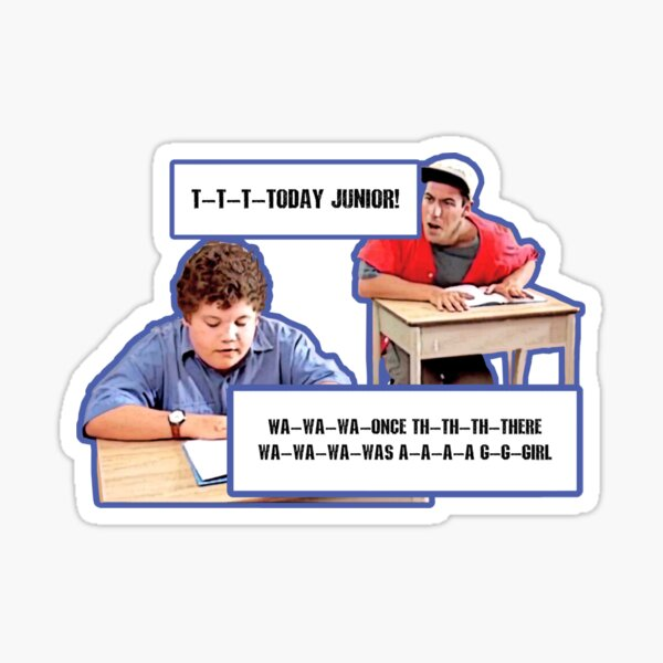 Billy madison Sticker
