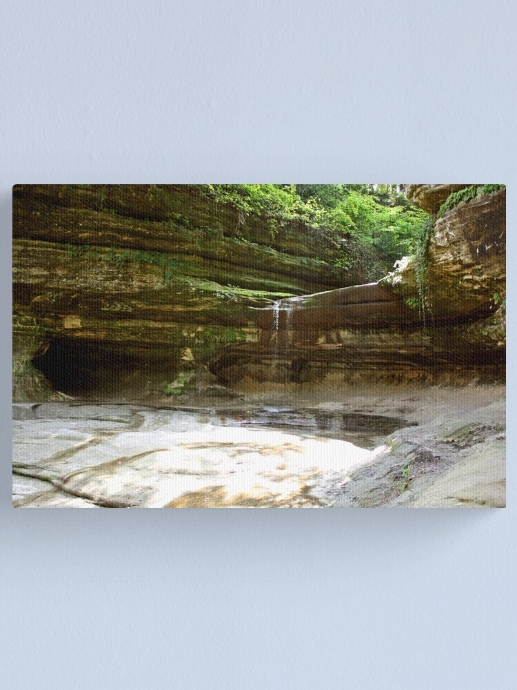Alternate view of LaSalle Canyon Canvas Print