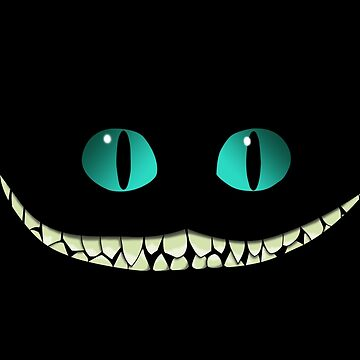 cheshire cat smile by janneman99