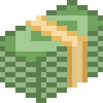 Green Dollar Money Stack by brick86