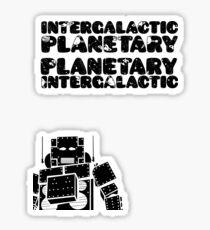 Pegatina Beastie Boys - Intergaláctico