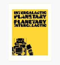 Lámina artística Beastie Boys - Intergaláctico