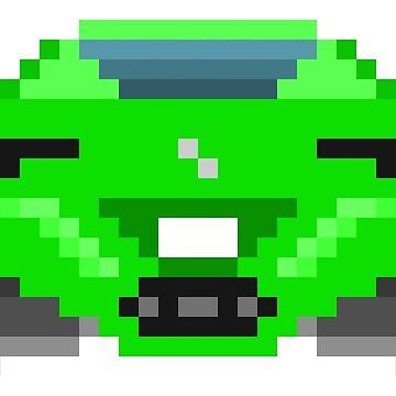 Green Ferrari by brick86