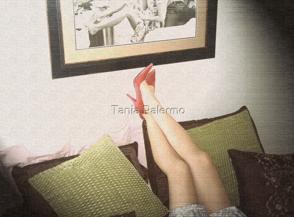 ...so she started without him by Tania Palermo