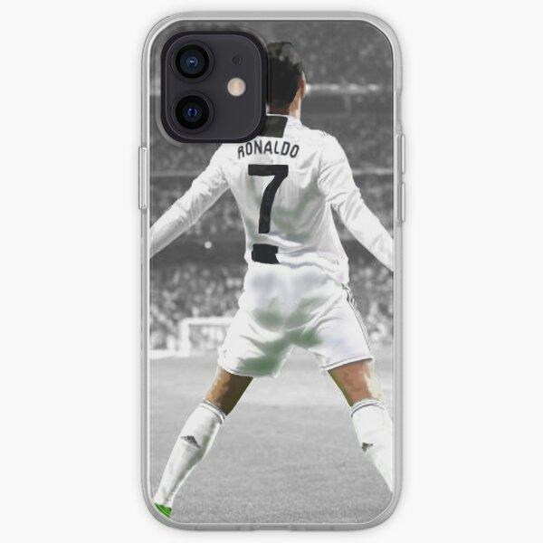 Juventus 'Cristiano Ronaldo Funda blanda para iPhone