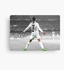 Juventus Cristiano Ronaldo Metallbild