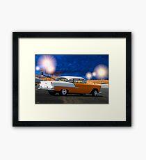 1955 Chevrolet Bel Air Two-Door Hardtop Framed Print