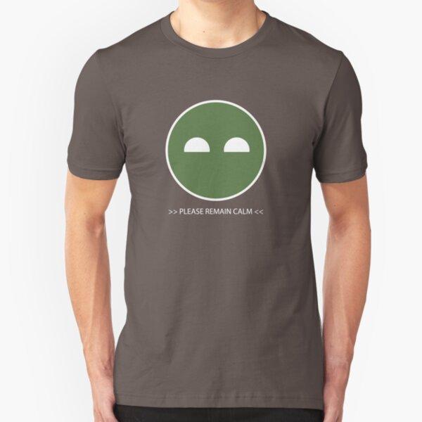 Halo ODST Superintendent - Calm Slim Fit T-Shirt