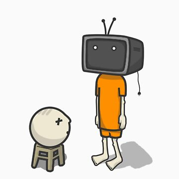 tv man by PixelPaul
